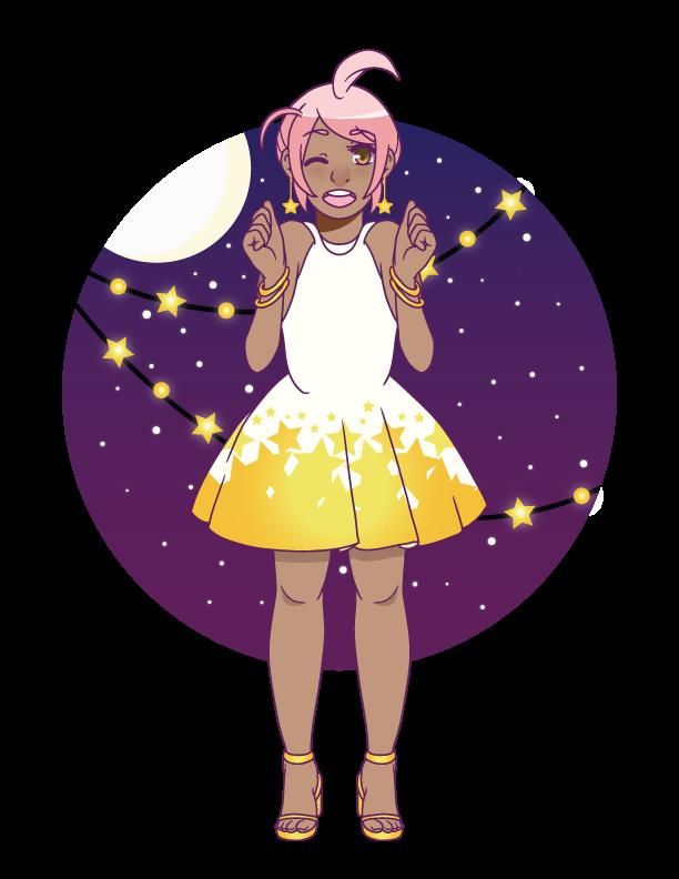 Sancta Eternum: Moonlight Mixer Outfit by creamteacookie