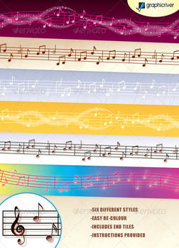 Music Vector Brushes