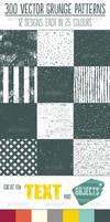 Grunge reapeat patterns for Illustrator