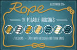 Rope Brushes for Illustrator