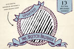 Ink Sketch Brushes