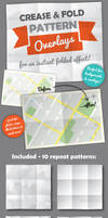 Fold and Crease Pattern Overlays (Illustrator)