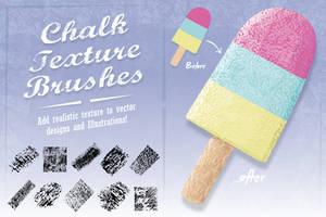 Chalk Texture Brushes by Jeremychild
