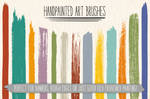 Hand-painted Art Brushes