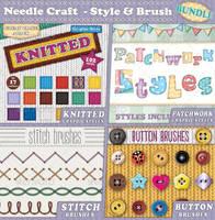 Needle Craft, Style and Brush Bundle by Jeremychild