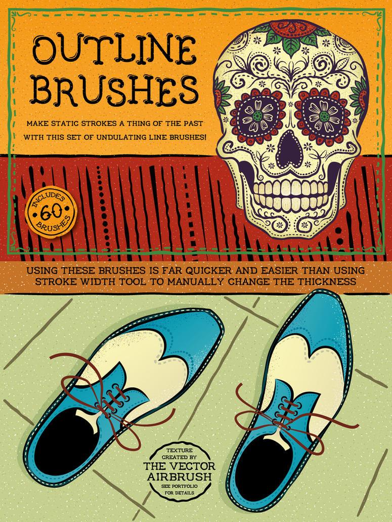 Outline Brushes by Jeremychild