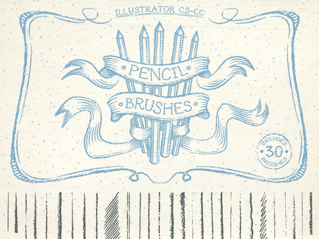 Pencil Brushes by Jeremychild