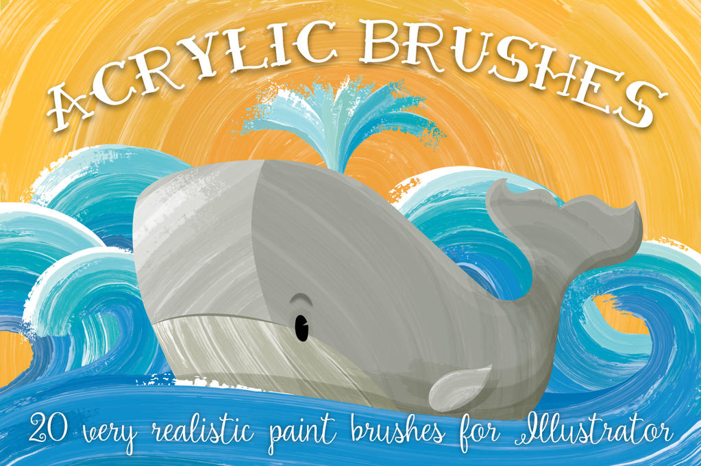 Acrylic Brushes by Jeremychild