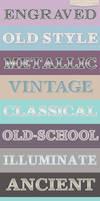 Illustrator Vintage and Retro Styles Prev by Jeremychild