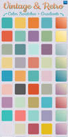 Vintage and Retro Gradients + Color Swatches by Jeremychild