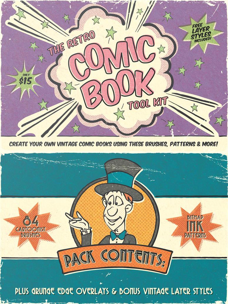 The Retro Comic Book Tool Kit by Jeremychild
