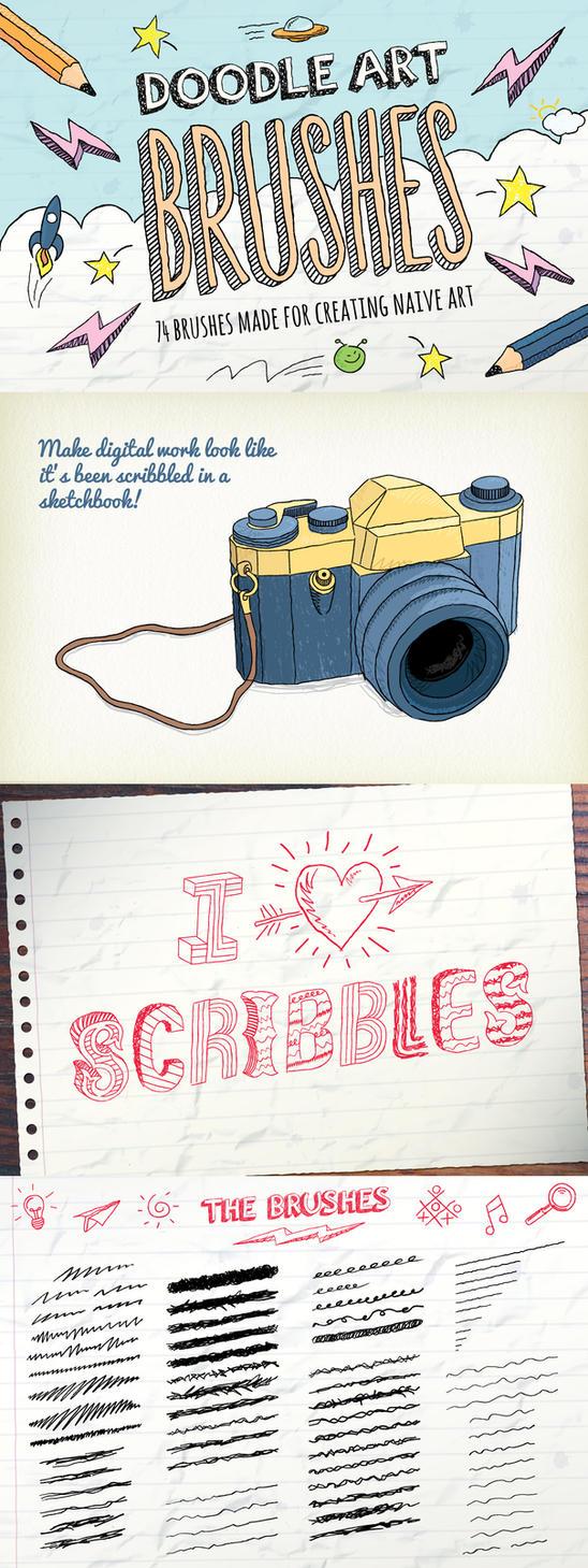 Doodle Brushes by Jeremychild