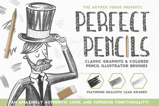 Perfect Pencils - Illustrator Brushes