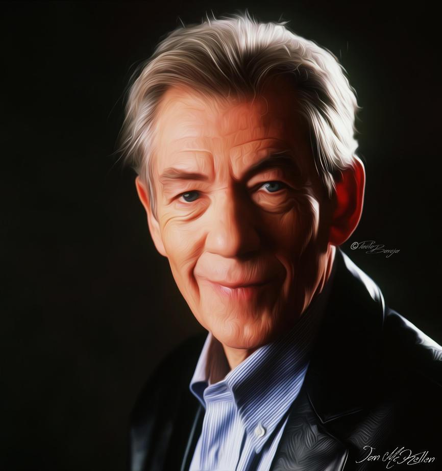 Ian-McKellen by PaoloBaroja