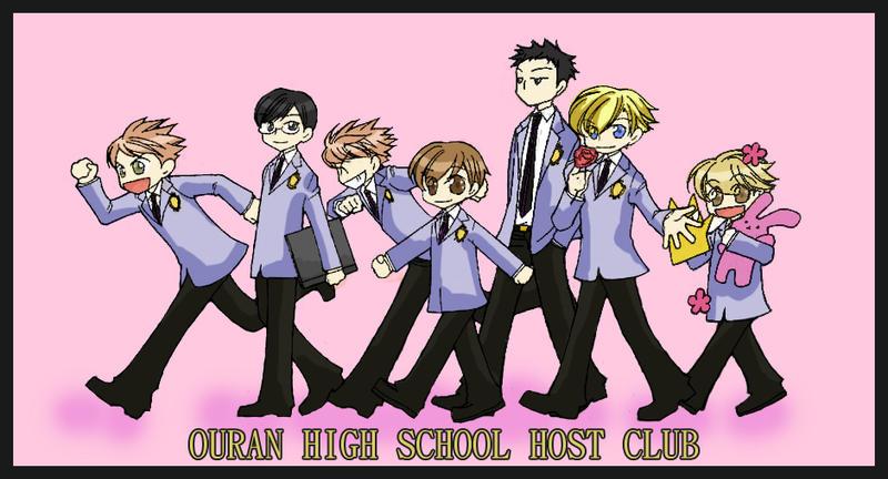 Chibi Ouran Host Club By Soubi Sensei