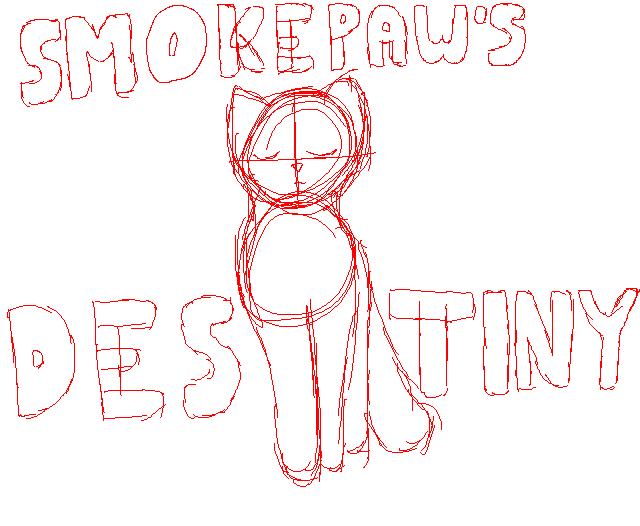 Smokepaw's Destiny Remake Cover by ilovewarriorsthemost