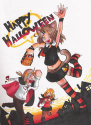 Happy Halloween by AkiraIzumi