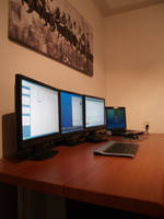 My current workspace by Cablekevin