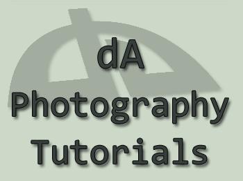 dA Photography Tutorials List by SleepingDeadGirl