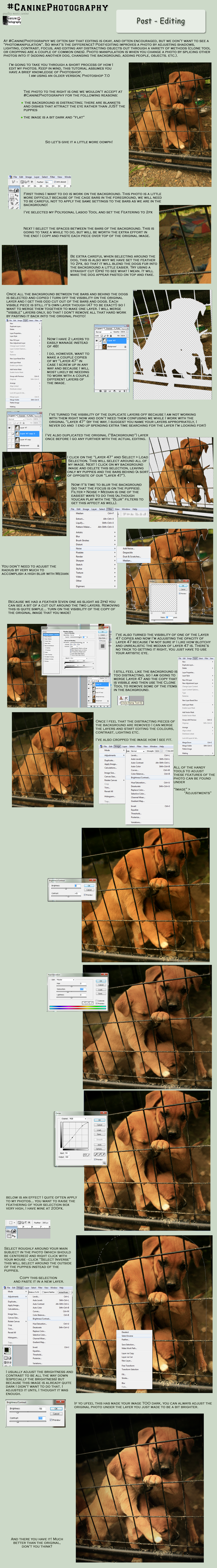CP Post Editing Tutorial by SleepingDeadGirl
