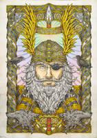 Odin Final by Firebrander
