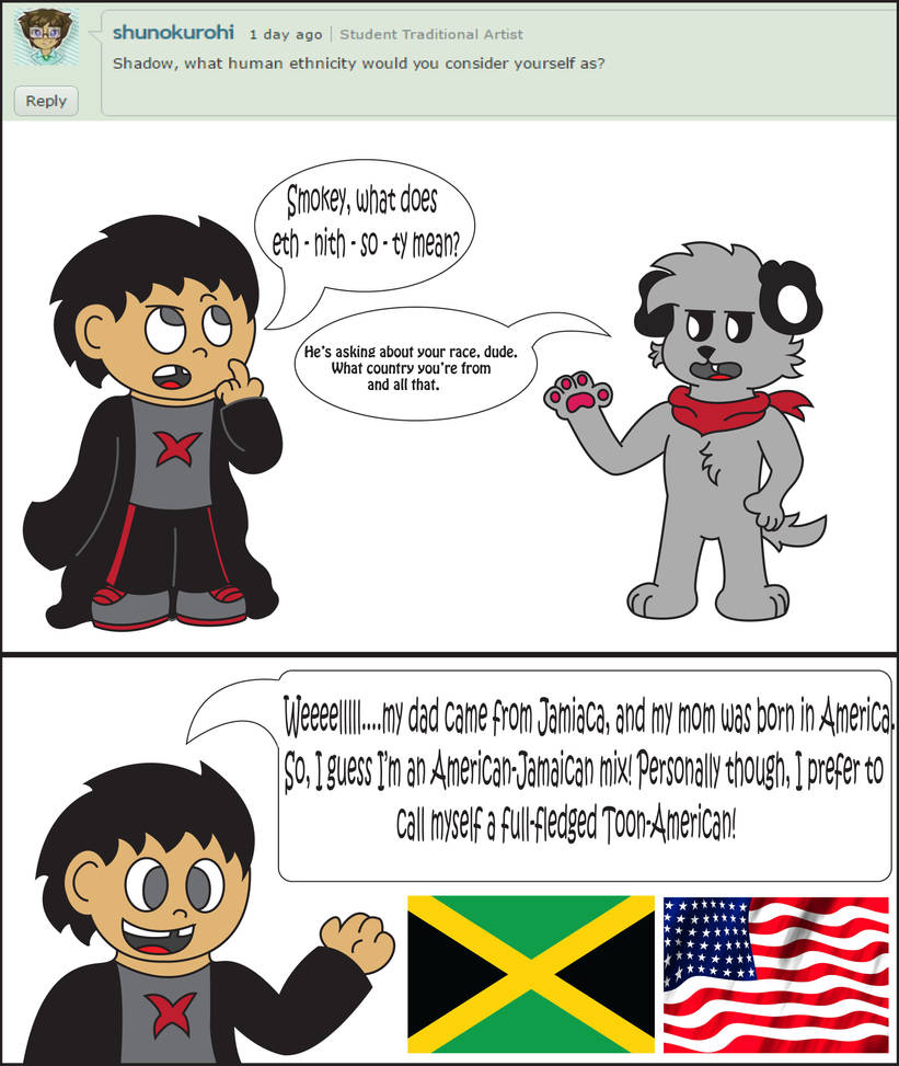 Ask 2: Nationality by ShadowtheCartoonist on DeviantArt