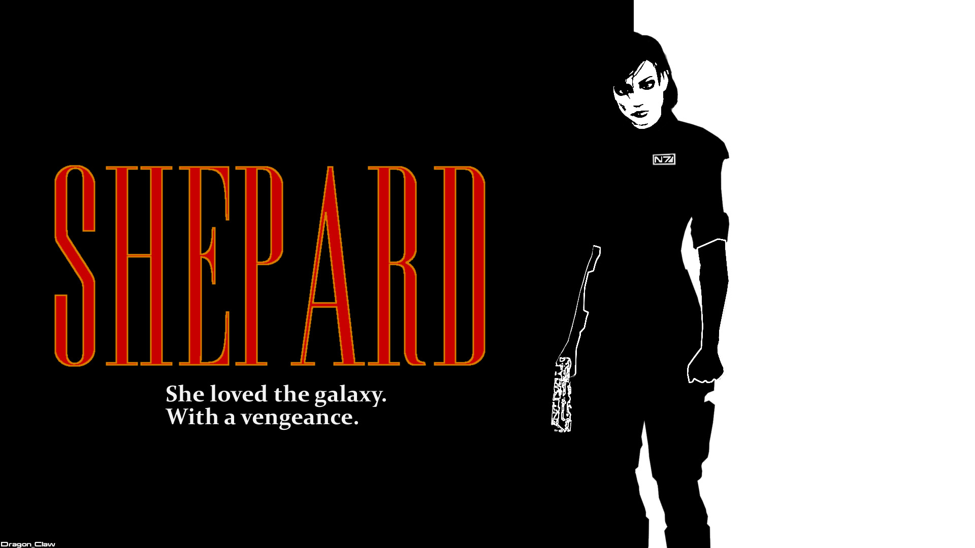 Shepard by Dragon-Claw666