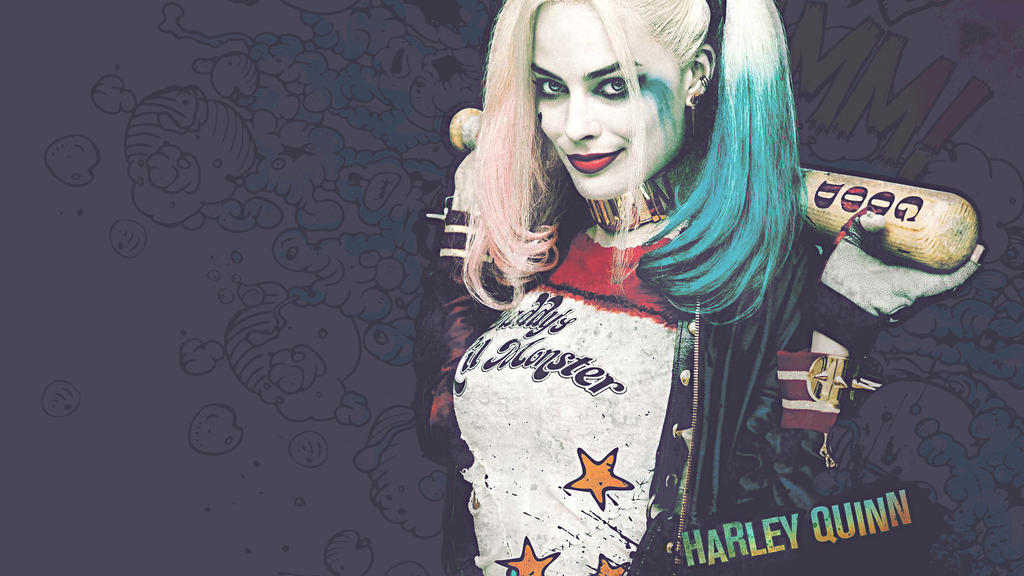 Harley Quinn FanArt FullHD (1920x1080) by hxw-araa
