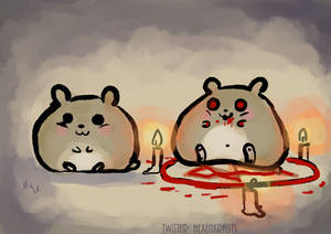 the conjuring of hamster