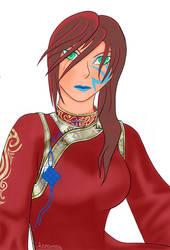 LinMei Portrait by Asranna