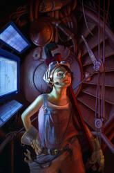 Space Mechanic by DrewSil