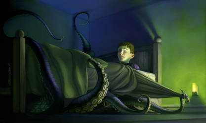 Sleep Paralysis by DrewSil
