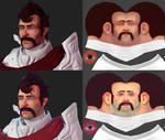 Knight Bust Texture test