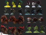Guild Wars 2 Hairstyles