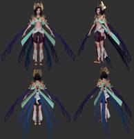 Opal Eater Progress - Full Body by Alemja