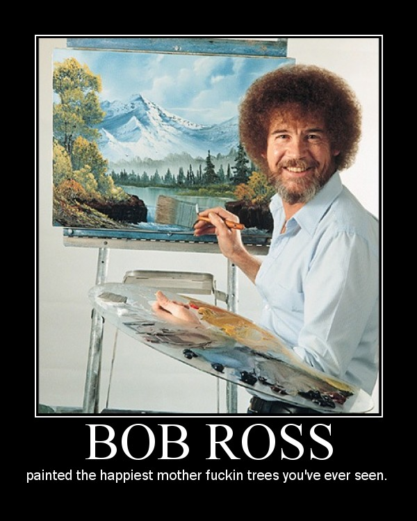 Bob Ross By Sapphire Gorgon On Deviantart