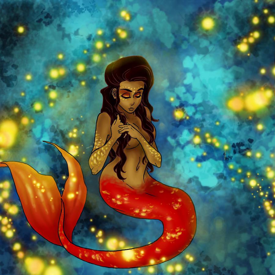 Indian Mermaid - Leela by ErisLeea on DeviantArt