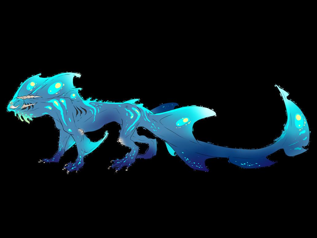 Aquos, spawn of the deep. My_blue_water_dragon_by_erisleea-d4ycslt