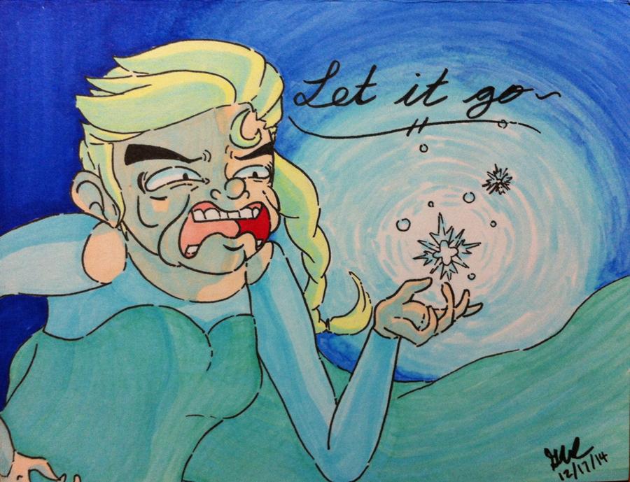 Oh My, Elsa by AquaticBandage