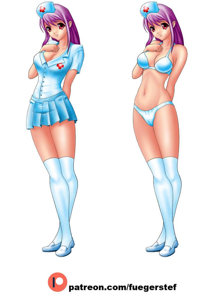 Sexy-Nurse-C by fuegerstef