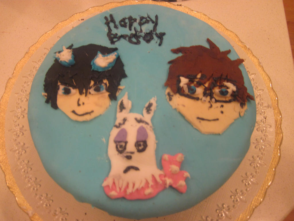 Blue Exorcist Cake by animesoundtracklover on DeviantArt