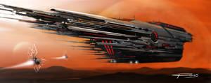 spaceship by ROSSJCBR