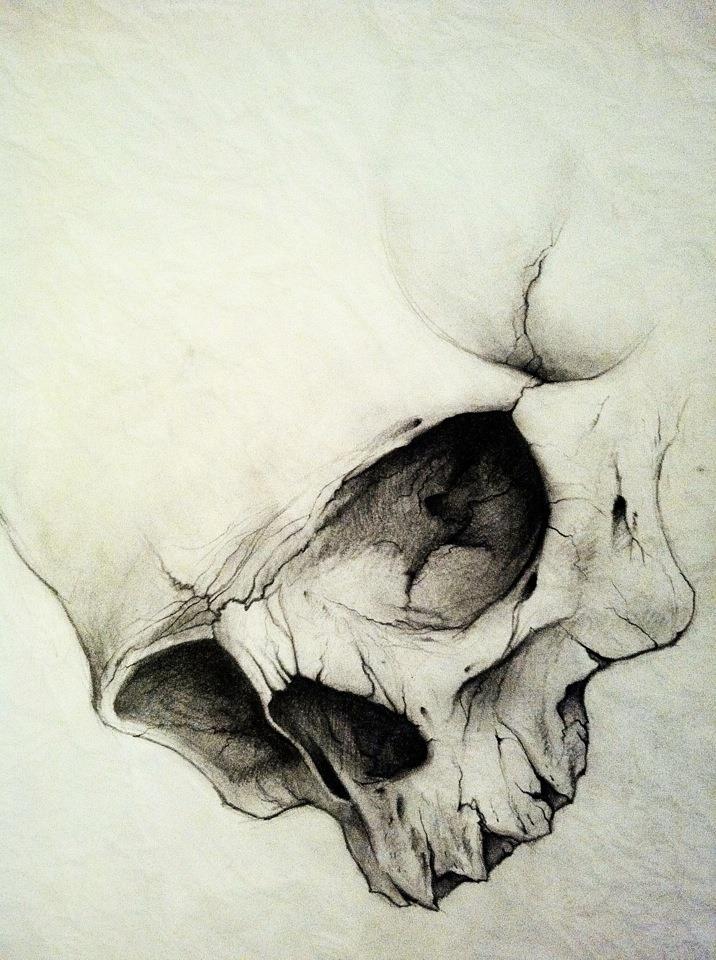 Skull by ROSSJCBR