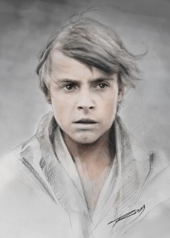 Luke Skywalker by ROSSJCBR
