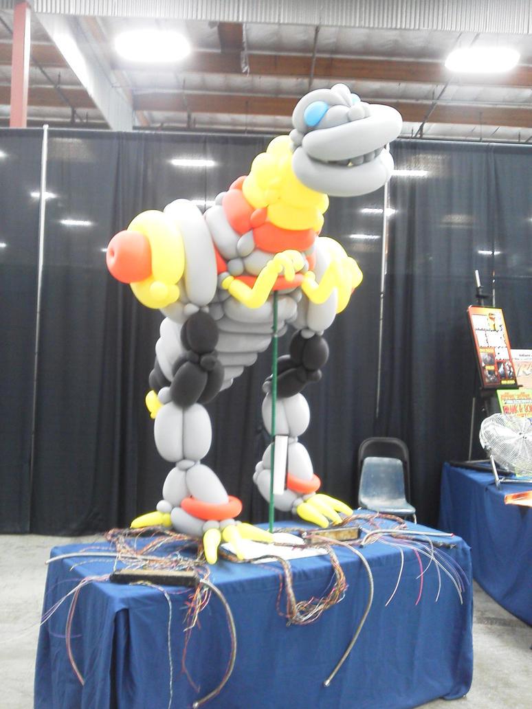 Grimlock Balloon by Iluvtoonlink