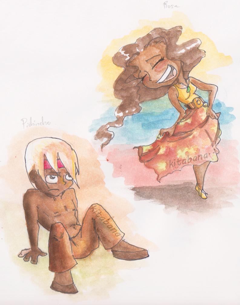 Pichincha and Rosa by Kitabana