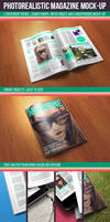 Photorealistic Magazine Mock-up by kotulsky