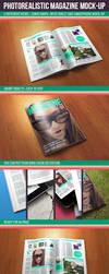 Photorealistic Magazine Mock-up by kotulsky