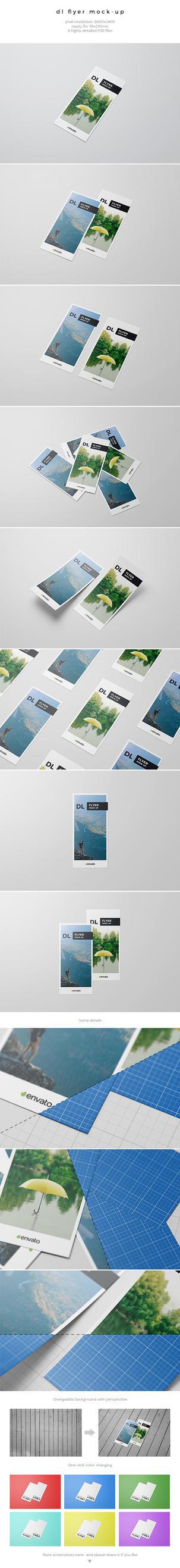 DL Flyer Mockup by kotulsky