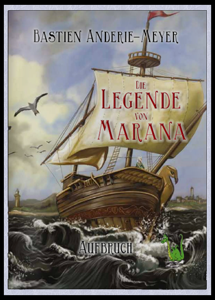 Die Legende von Marana - Cover by Anderie-Meyer